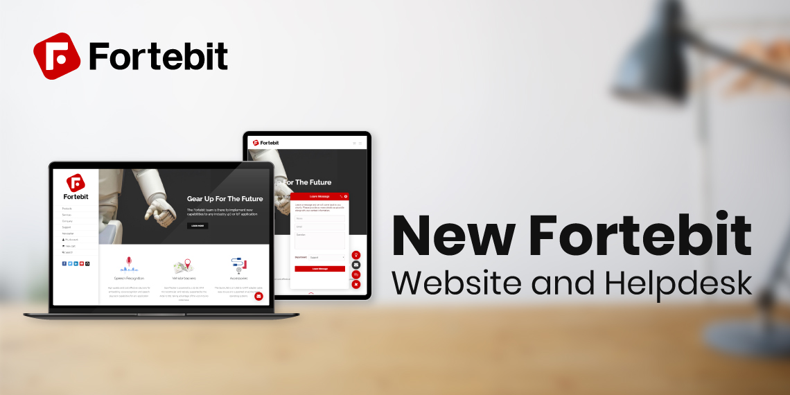 Fortebit Website post
