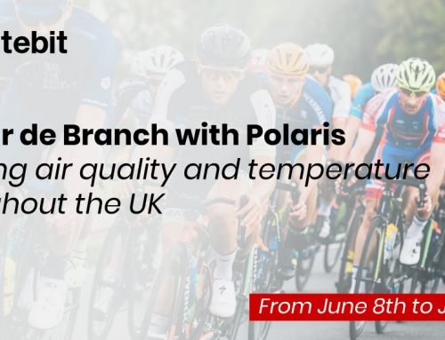 RS Tour de Branch with Polaris – tracking air quality and temperature throughout the UK