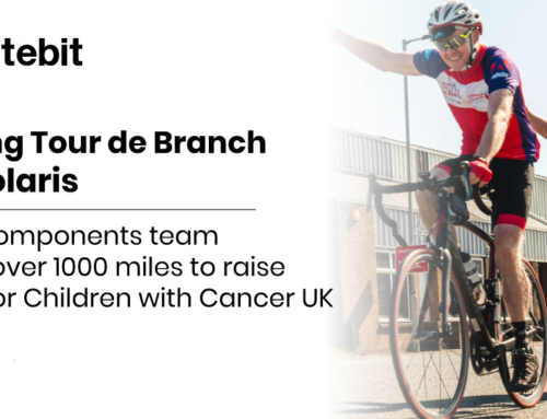 Tracking Tour de Branch with Polaris – the RS Components team crosses over 1000 miles to raise money for Children with Cancer UK