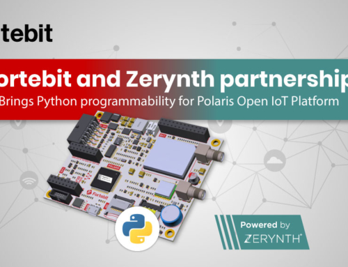 Fortebit and Zerynth partnership brings Python programmability for Polaris Open IoT Platform