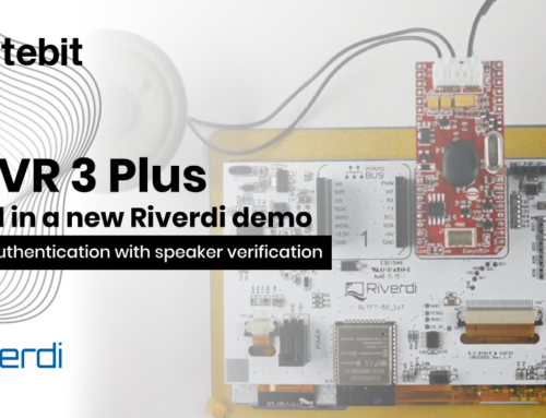 EasyVR 3 Plus featured in a new Riverdi demo – Two-factor authentication with speaker verification