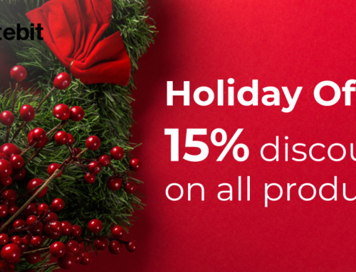 Holiday Offer – 15% discount on all products