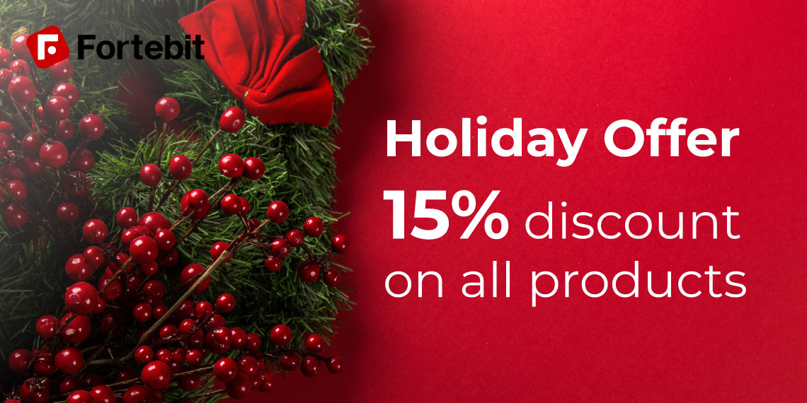 holiday Fortebit discount
